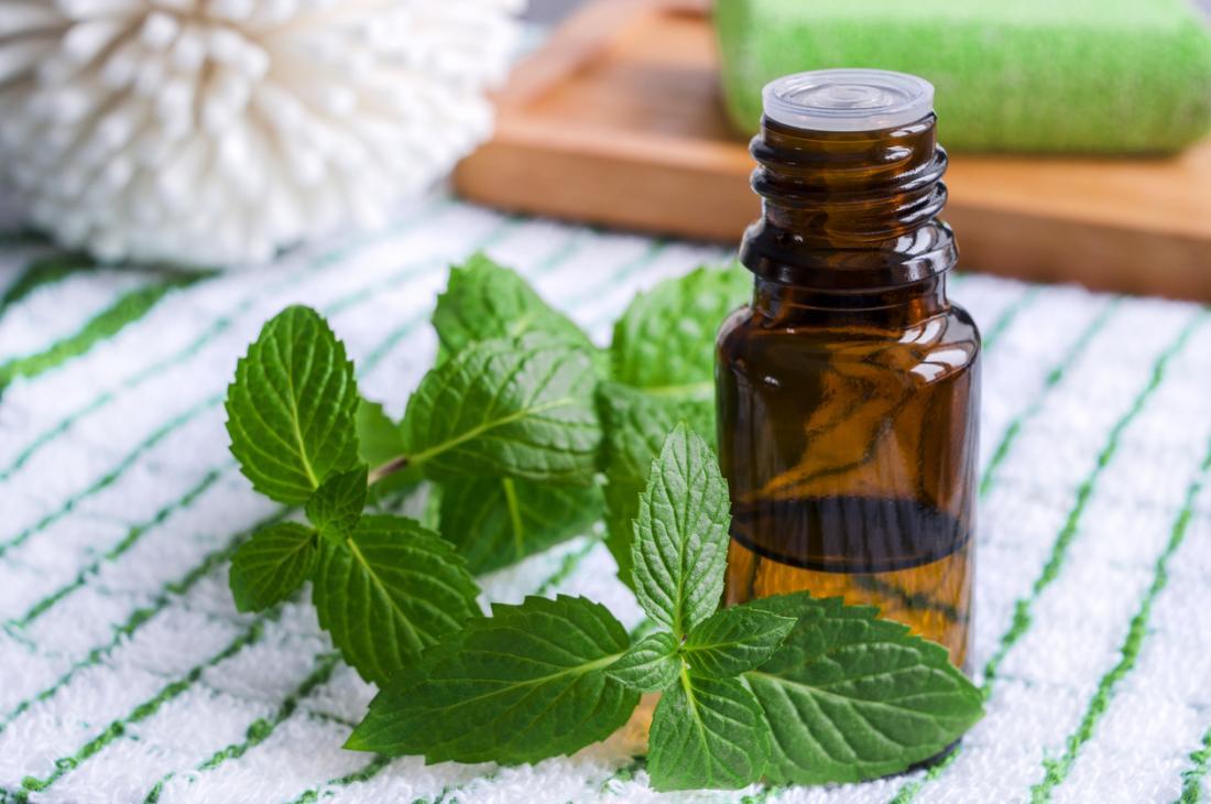 huile essentielle de menthe poivrée pour la croissance des cheveux